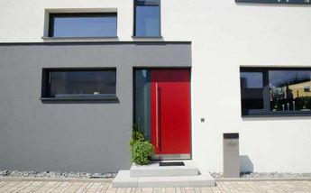 Haustür mit Stil