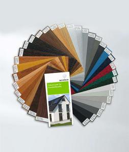Standard-Dekorfarben für Fenster